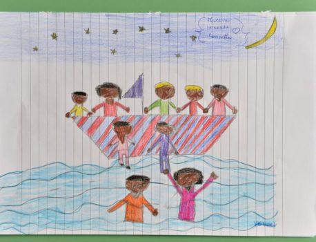 Le drame de Lampedusa dessiné par les enfants